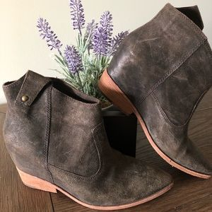 Sigerson Morrison booties from Anthropologie